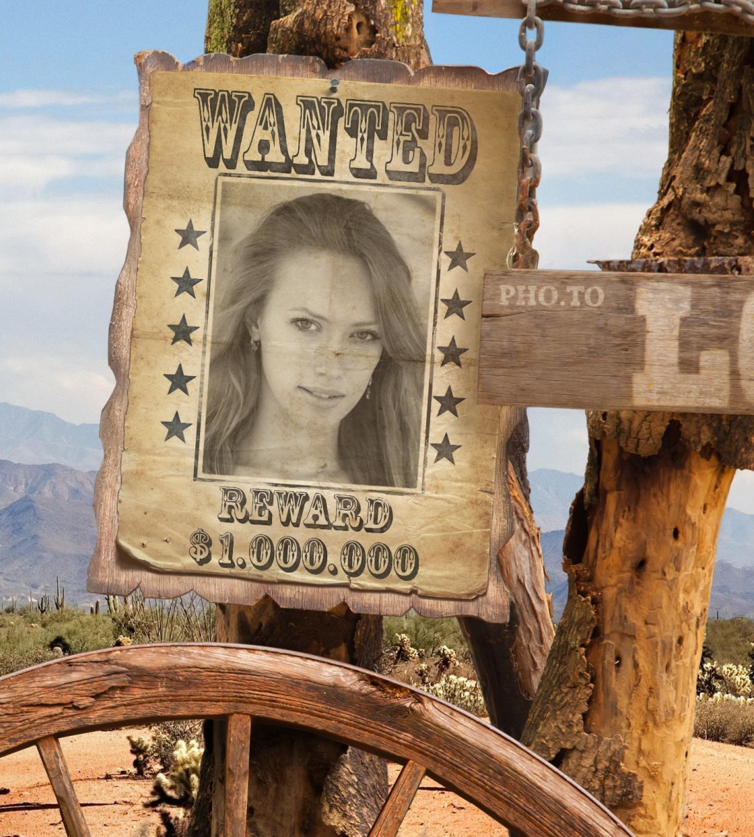 create your own wanted poster with wanted poster generator