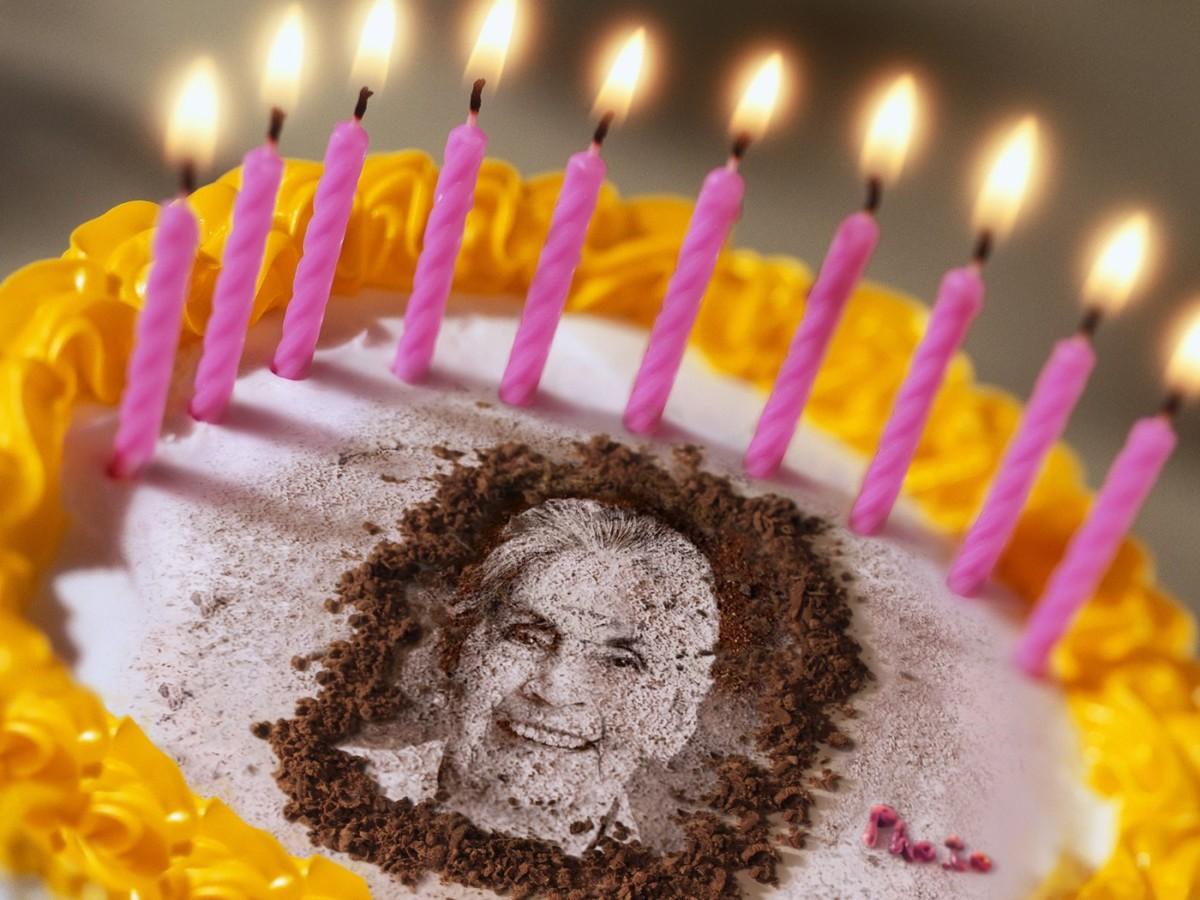 Birthday Cake With Image Upload